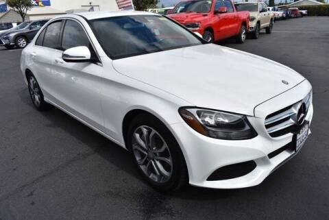 2016 Mercedes-Benz C-Class for sale at DIAMOND VALLEY HONDA in Hemet CA