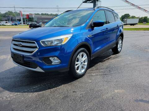 2018 Ford Escape for sale at Moores Auto Sales in Greeneville TN