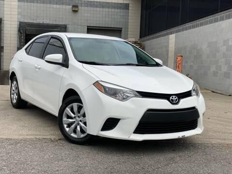 2014 Toyota Corolla for sale at Illinois Auto Sales in Paterson NJ