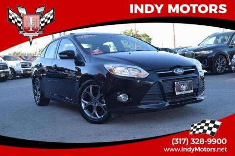2014 Ford Focus for sale at Indy Motors Inc in Indianapolis IN