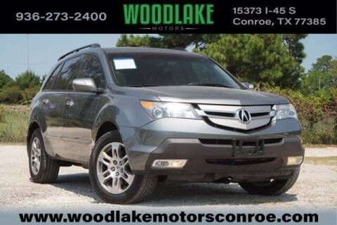 2008 Acura MDX for sale at WOODLAKE MOTORS in Conroe TX