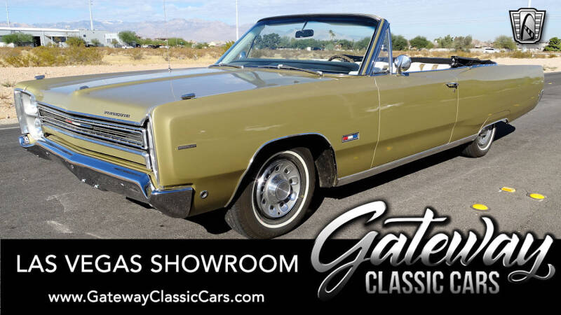 1968 Plymouth Sport Fury for sale in Las Vegas, NV