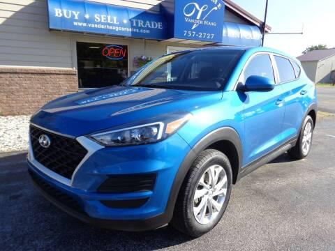 2020 Hyundai Tucson for sale at VanderHaag Car Sales LLC in Scottville MI