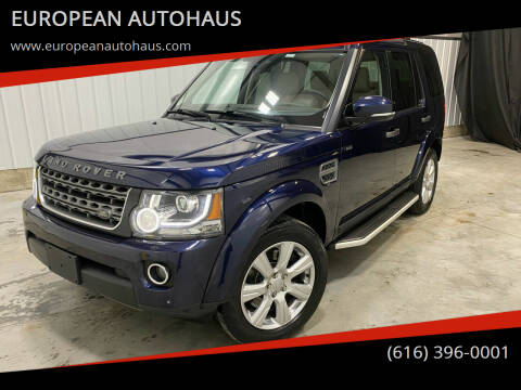 2015 Land Rover LR4 for sale at EUROPEAN AUTOHAUS in Holland MI