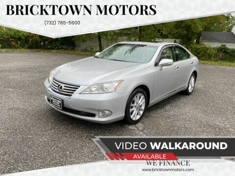 2012 Lexus ES 350 for sale at Bricktown Motors in Brick NJ