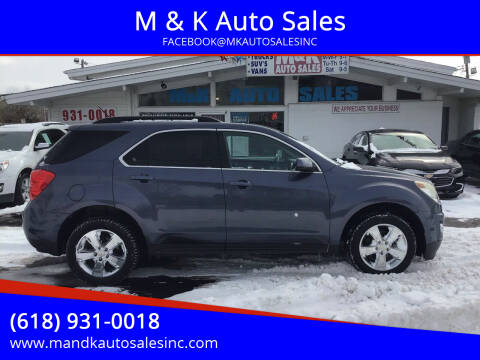 2013 Chevrolet Equinox for sale at M & K Auto Sales in Granite City IL
