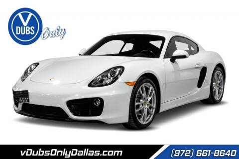 2016 Porsche Cayman for sale at VDUBS ONLY in Dallas TX