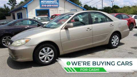 2006 Toyota Camry for sale at NORCROSS MOTORSPORTS in Norcross GA