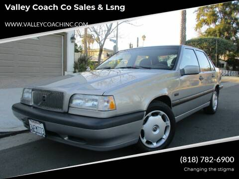 1996 Volvo 850 for sale at Valley Coach Co Sales & Lsng in Van Nuys CA