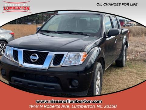2019 Nissan Frontier for sale at Nissan of Lumberton in Lumberton NC