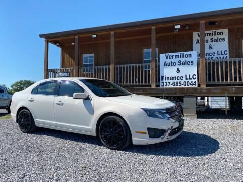 2011 Ford Fusion for sale at Vermilion Auto Sales & Finance in Erath LA
