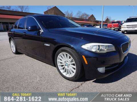 2012 BMW 5 Series for sale at Auto Q Car and Truck Sales in Mauldin SC