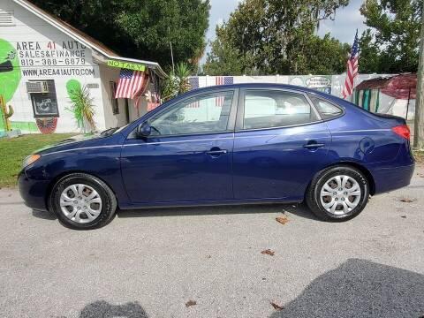 2008 Hyundai Elantra for sale at Area 41 Auto Sales & Finance in Land O Lakes FL