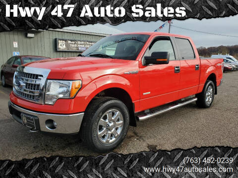 2014 Ford F-150 for sale at Hwy 47 Auto Sales in Saint Francis MN