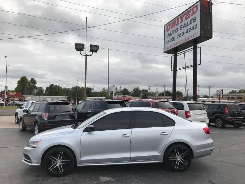 2015 Volkswagen Jetta for sale at United Auto Sales in Oklahoma City OK