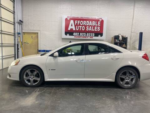 2008 Pontiac G6 for sale at Affordable Auto Sales in Humphrey NE