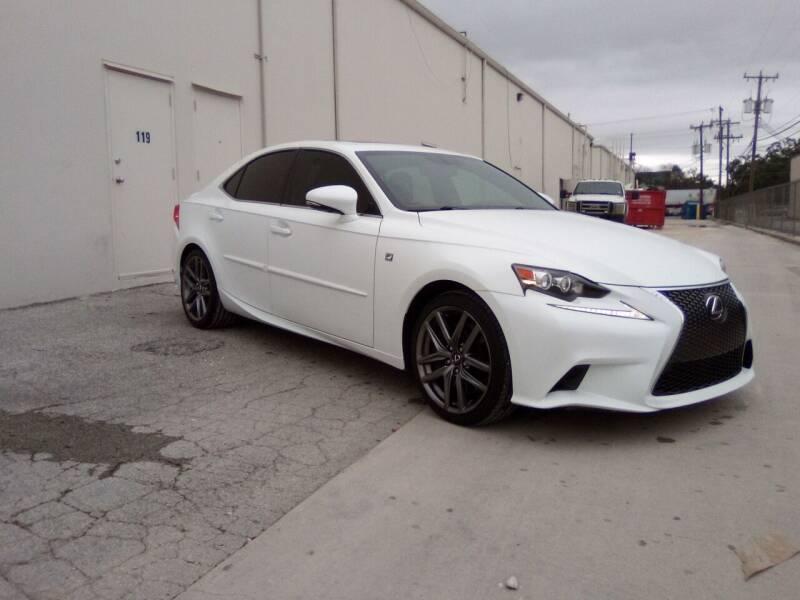 2015 Lexus IS 350 for sale at 57 Auto Sales in San Antonio TX