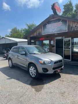 2015 Mitsubishi Outlander Sport for sale at LEE AUTO SALES in McAlester OK