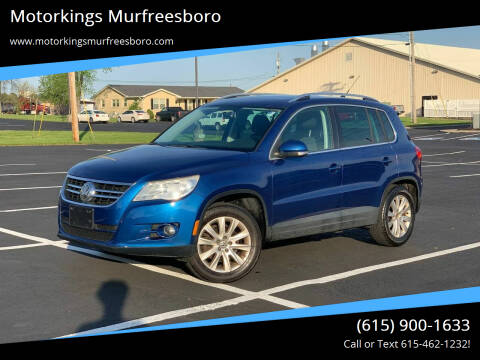 2009 Volkswagen Tiguan for sale at Motorkings Murfreesboro in Murfreesboro TN