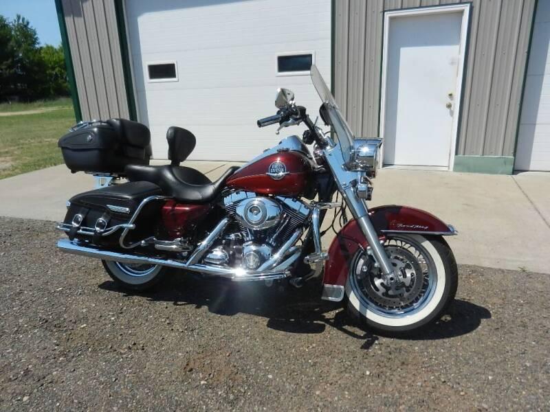 2008 Harley-Davidson Road King for sale in Siren, WI