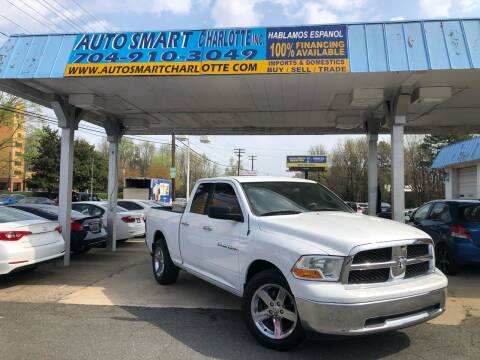 2011 RAM Ram Pickup 1500 for sale at Auto Smart Charlotte in Charlotte NC
