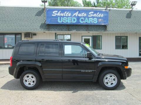 2016 Jeep Patriot for sale at SHULTS AUTO SALES INC. in Crystal Lake IL