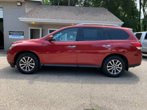 2016 Nissan Pathfinder for sale at SS AUTO PRO'S in Otsego MI