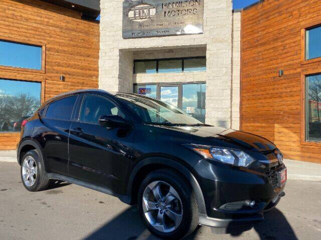 2017 Honda HR-V for sale at Hamilton Motors in Lehi UT