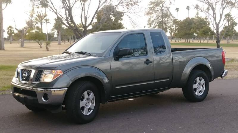 2007 Nissan Frontier for sale at CAR MIX MOTOR CO. in Phoenix AZ