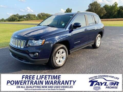 2016 Jeep Compass for sale at Taylor Automotive in Martin TN
