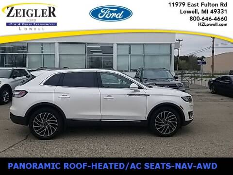 2019 Lincoln Nautilus for sale at Zeigler Ford of Plainwell- Jeff Bishop in Plainwell MI
