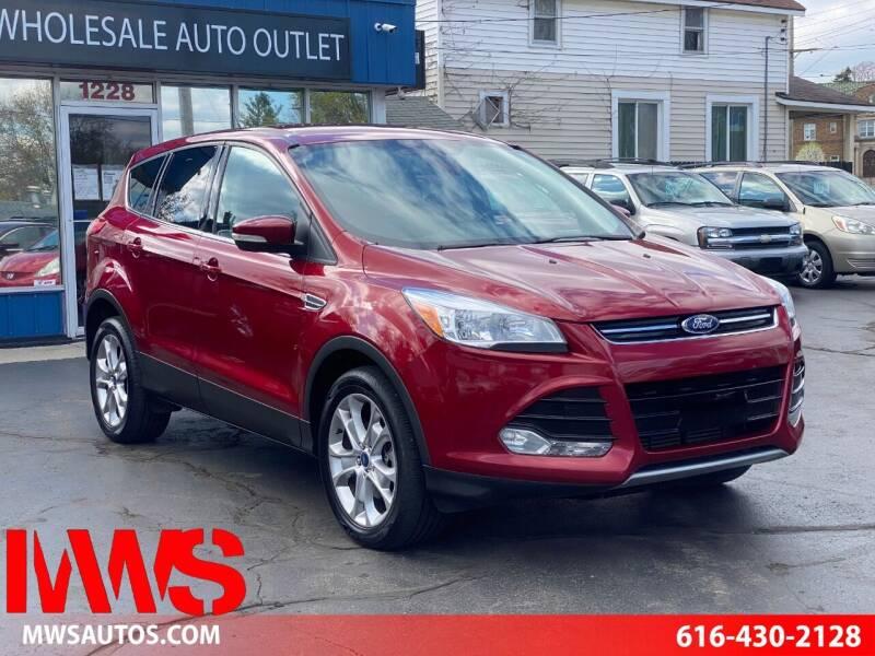 2013 Ford Escape for sale at MWS Wholesale  Auto Outlet in Grand Rapids MI