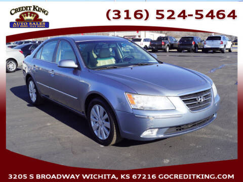 2009 Hyundai Sonata for sale at Credit King Auto Sales in Wichita KS