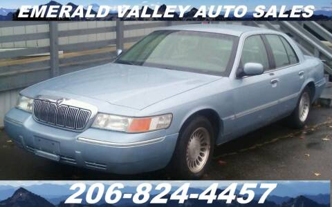 2001 Mercury Grand Marquis for sale at Emerald Valley Auto Sales in Des Moines WA