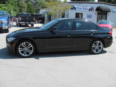 2016 BMW 3 Series for sale at Pure 1 Auto in New Bern NC