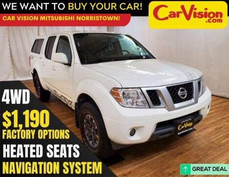 2017 Nissan Frontier for sale at Car Vision Mitsubishi Norristown in Trooper PA