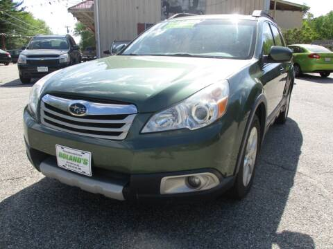 2011 Subaru Outback for sale at Roland's Motor Sales in Alfred ME