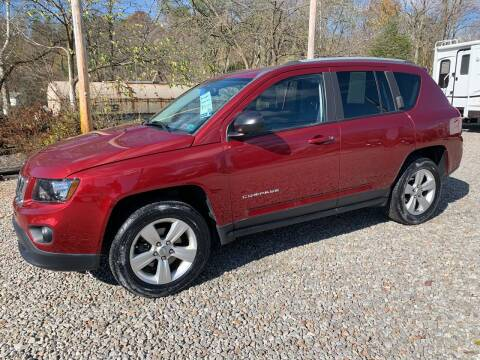 2016 Jeep Compass for sale at Reds Garage Sales Service Inc in Bentleyville PA