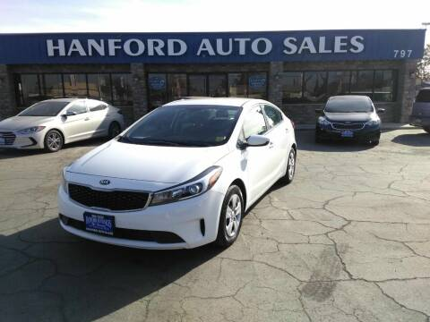 2017 Kia Forte for sale at Hanford Auto Sales in Hanford CA