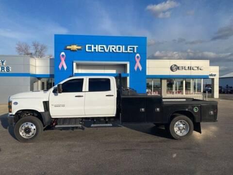 2019 Chevrolet Silverado 5500HD for sale at Finley Motors in Finley ND