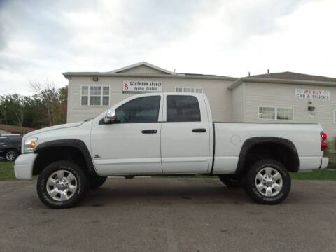2007 Dodge Ram Pickup 3500 for sale at SOUTHERN SELECT AUTO SALES in Medina OH