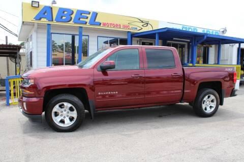 2016 Chevrolet Silverado 1500 for sale at Abel Motors, Inc. in Conroe TX
