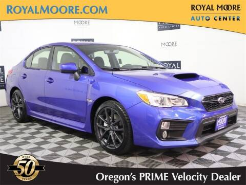 2019 Subaru WRX for sale at Royal Moore Custom Finance in Hillsboro OR
