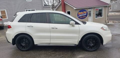 2010 Acura RDX for sale at Auto Pro Auto Sales-797 Sabattus St. in Lewiston ME