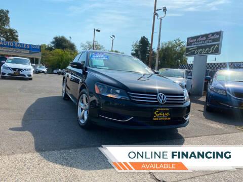2012 Volkswagen Passat for sale at Save Auto Sales in Sacramento CA