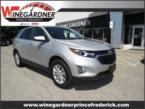 2021 Chevrolet Equinox for sale at Winegardner Auto Sales in Prince Frederick MD