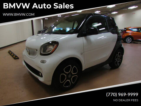 2018 Smart fortwo electric drive for sale at BMVW Auto Sales - Electric Vehicles in Union City GA