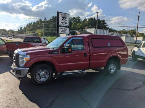 2015 Ford F-250 Super Duty for sale at Route 22 Autos in Zanesville OH