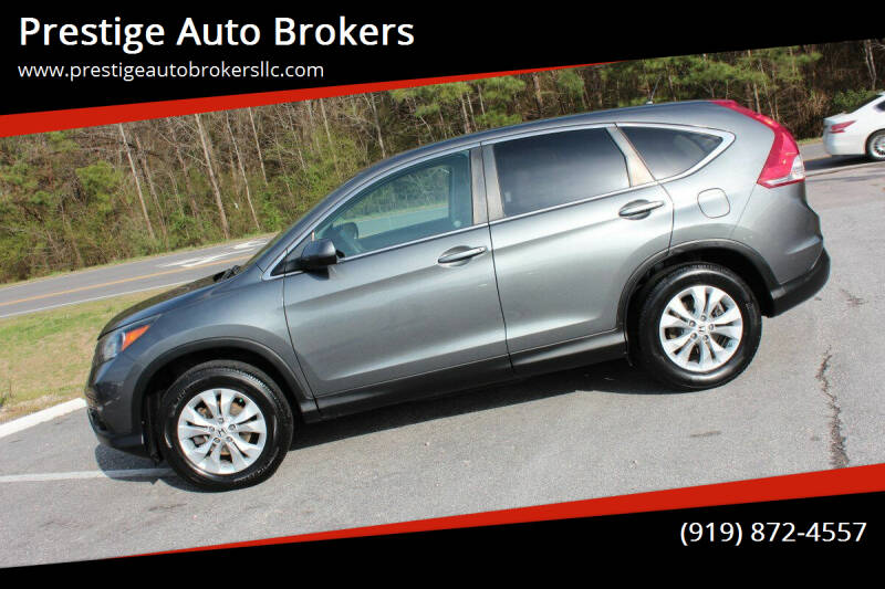 2014 Honda CR-V for sale at Prestige Auto Brokers in Raleigh NC