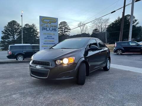 2014 Chevrolet Sonic for sale at CarsPlus in Scottsboro AL
